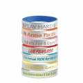 Silver Silicone Bracelets
