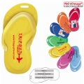 Stock Shape Sandal Luggage Bag Tag
